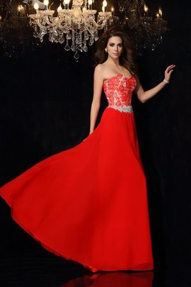 Short A-Line Chiffon Empire Waist Evening Dress