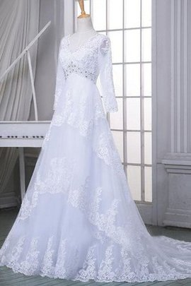 Satin Beading Off The Shoulder Lace A-Line Wedding Dress