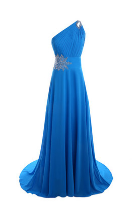 Sleeveless Chic & Modern Outdoor Formal Mid Back Prom Dress