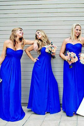 Sweetheart A-Line Sleeveless Natural Waist Bridesmaid Dress