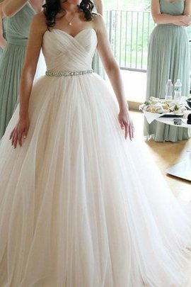 Criss-Cross Sweetheart Vintage Tulle Alluring Church Elegant & Luxurious Wedding Dress