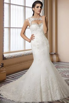 Zipper Up Capped Sleeves Floor Length Lace Wedding Dress