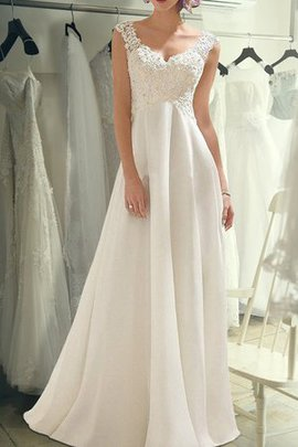 Natural Waist Embroidery Rectangle Exclusive Angelic Hall Romantic Wedding Dress