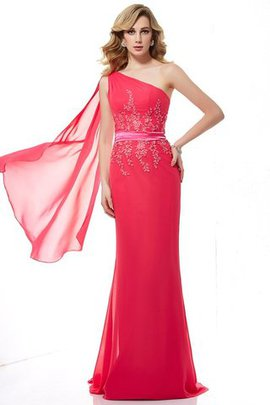 Long Sleeveless Beading Zipper Up Sweep Train Evening Dress