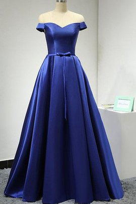 Elegant & Luxurious Bow Simple Floor Length Bridesmaid Dress