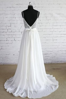 A-Line Sleeveless Lace Sexy Informal & Casual Wedding Dress