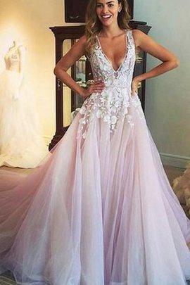 Keyhole Back Sexy Pleated Sleeveless A-Line Prom Dress