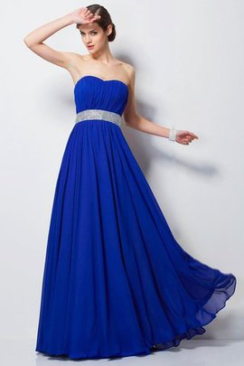 Beading Sleeveless Chiffon Empire Evening Dress