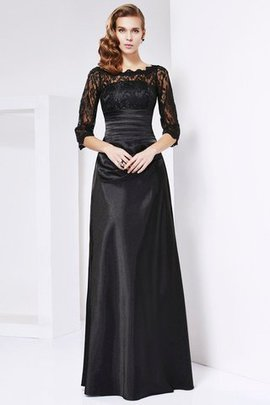 Long Off The Shoulder Natural Waist Sheath Floor Length Mother Of The Bride Dress