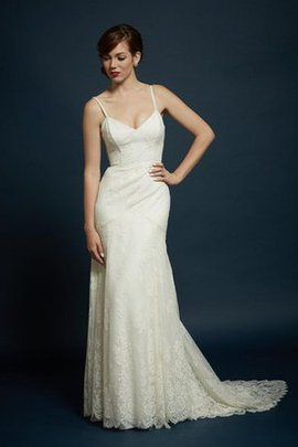 Sheath Informal & Casual Natural Waist Pleated Sleeveless Wedding Dress