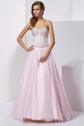 Sweetheart Lace-up Floor Length Sleeveless Ball Gown Quinceanera Dress