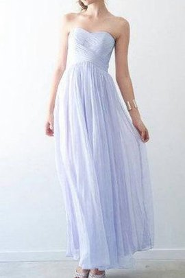 Sweetheart Sexy Sleeveless Zipper Up A-Line Bridesmaid Dress
