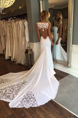 Glamorous Hourglass Backless Sweetheart Embroidery Elegant & Luxurious Wedding Dress