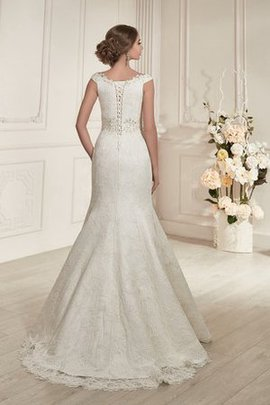 Mermaid Sexy Lace Fabric Floor Length Lace-up Wedding Dress