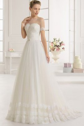 Sweetheart Natural Waist Misses Simple Hall Wedding Dress