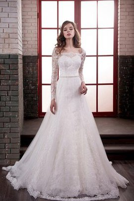 Lace Fabric Tulle Appliques Vintage Simple Wedding Dress