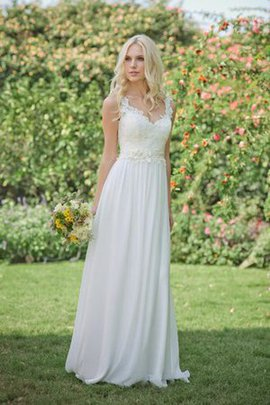 Chic & Modern Elegant & Luxurious Lace Zipper Up Simple Wedding Dress