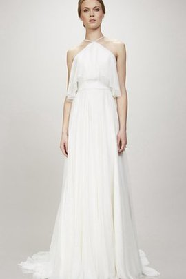 Beach Rectangle Natural Waist A-Line Simple Wedding Dress
