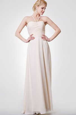 Zipper Up Empire Waist A-Line Long Ruched Evening Dress
