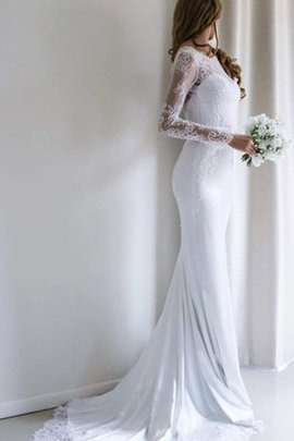 Sweep Train Floor Length Sexy Vintage Wedding Dress