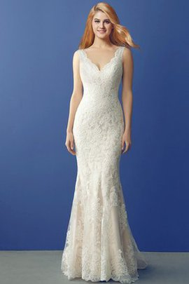 Lace Fabric Vintage Elegant & Luxurious Appliques Sexy Wedding Dress
