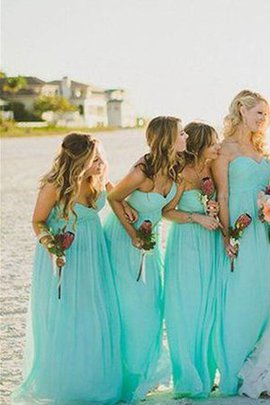 Elegant & Luxurious A-Line Criss-Cross Zipper Up Sweetheart Bridesmaid Dress