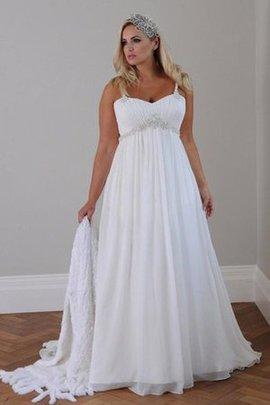 Simple Chic & Modern Beading Romantic Informal & Casual Wedding Dress