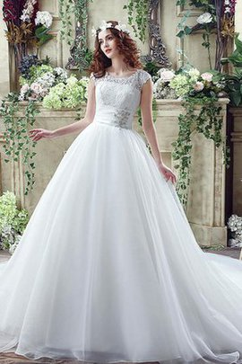 Court Train Sexy Exclusive Demure Beading Wedding Dress