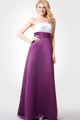 Sweep Train Ruched Sleeveless Chic & Modern Bridesmaid Dress