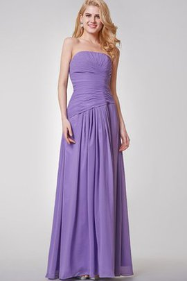Long Floor Length Elegant & Luxurious Ruched Romantic Bridesmaid Dress