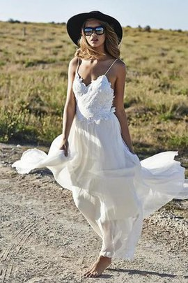 Informal & Casual A-Line Sweetheart Beach Wedding Dress
