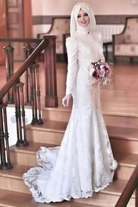 Floor Length Attractive Embroidery Fancy Hall Lace Fabric Formal Wedding Dress