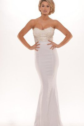 Long Floor Length Sleeveless Mermaid Appliques Evening Dress