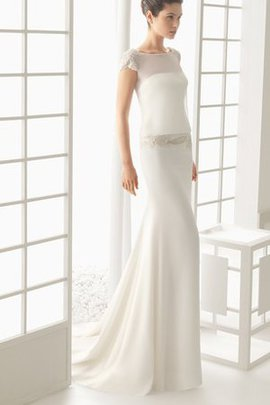 Chic & Modern Thin Sheath Simple Vintage Wedding Dress