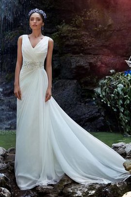 Sexy Chiffon Informal & Casual A-Line Elegant & Luxurious Wedding Dress