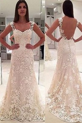 Sleeveless Sweetheart Distinctive Thin Elegant & Luxurious Lace Fabric Wedding Dress
