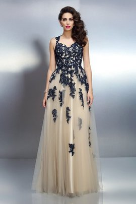Spaghetti Straps Floor Length Princess Empire Waist Sleeveless Evening Dress