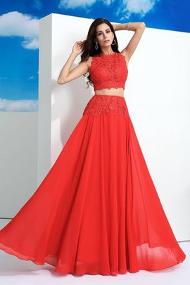 Zipper Up Floor Length Sleeveless Lace Long Prom Dress