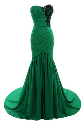 Elegant & Luxurious Chic & Modern Sheath Demure Colorful Evening Dress