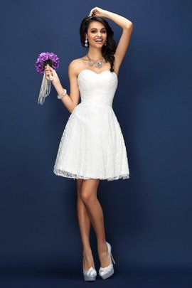 Sweetheart Zipper Up Princess Natural Waist Sleeveless Bridesmaid Dress