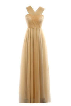 Chic & Modern Sweep Train Romantic Sheath Exclusive Bridesmaid Dress