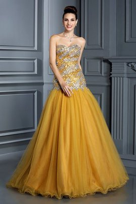 Floor Length Empire Waist Ruffles A-Line Evening Dress