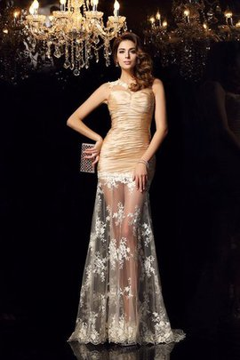 Long Sweetheart Empire Waist Mermaid Sleeveless Evening Dress