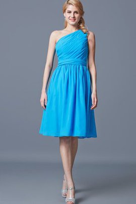 Chiffon Vintage A-Line Sleeveless Simple Homecoming Dress
