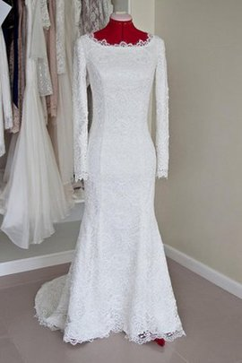 Vintage Long Sleeves Floor Length Simple Modest Wedding Dress