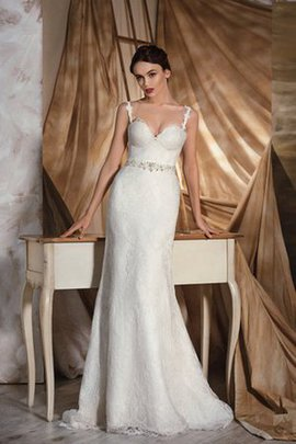 Natural Waist Appliques Informal & Casual Lace Wedding Dress