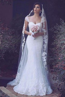 Sleeveless Spaghetti Straps Sweep Train Natural Waist Tulle Wedding Dress