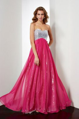 Beading A-Line Sweetheart Floor Length Prom Dress