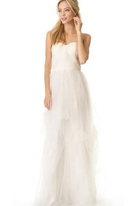 Beach Sweetheart Zipper Up Informal & Casual Wedding Dress