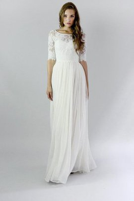 Elegant & Luxurious Informal & Casual Lace Sheath Wedding Dress